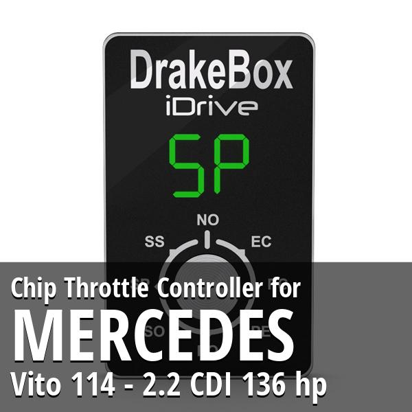 Chip Mercedes Vito 114 - 2.2 CDI 136 hp Throttle Controller
