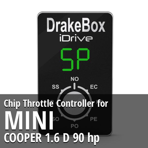 Chip Mini COOPER 1.6 D 90 hp Throttle Controller