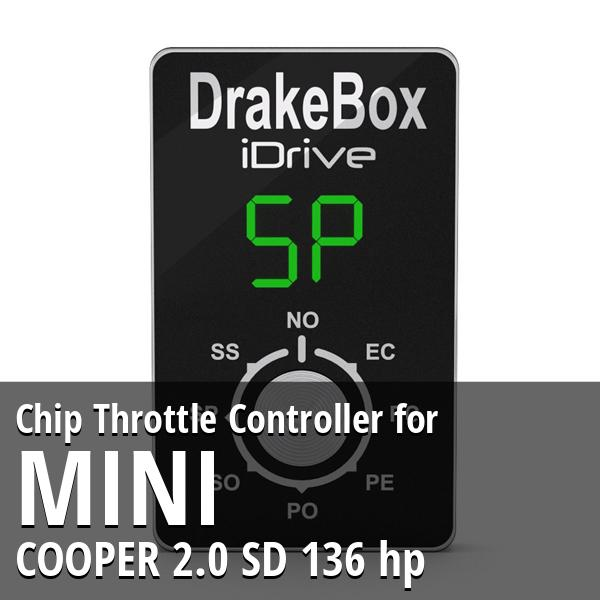 Chip Mini COOPER 2.0 SD 136 hp Throttle Controller
