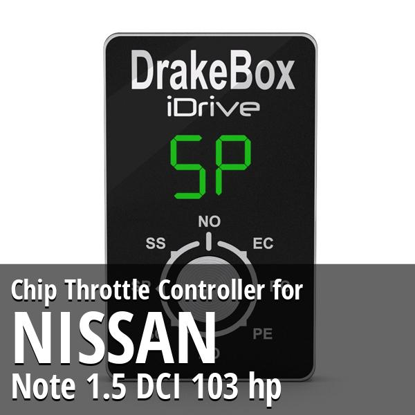 Chip Nissan Note 1.5 DCI 103 hp Throttle Controller