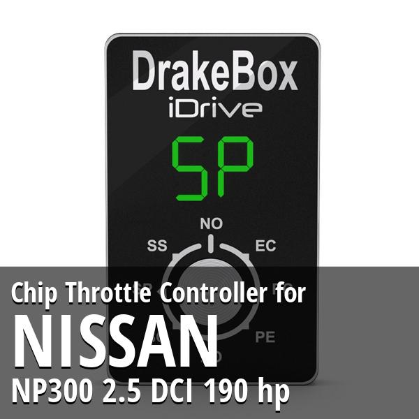 Chip Nissan NP300 2.5 DCI 190 hp Throttle Controller