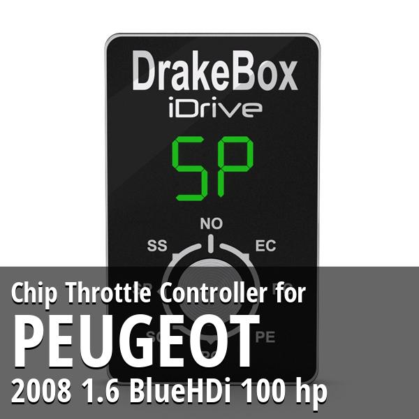 Chip Peugeot 2008 1.6 BlueHDi 100 hp Throttle Controller