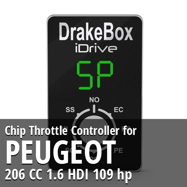 Chip Peugeot 206 CC 1.6 HDI 109 hp Throttle Controller