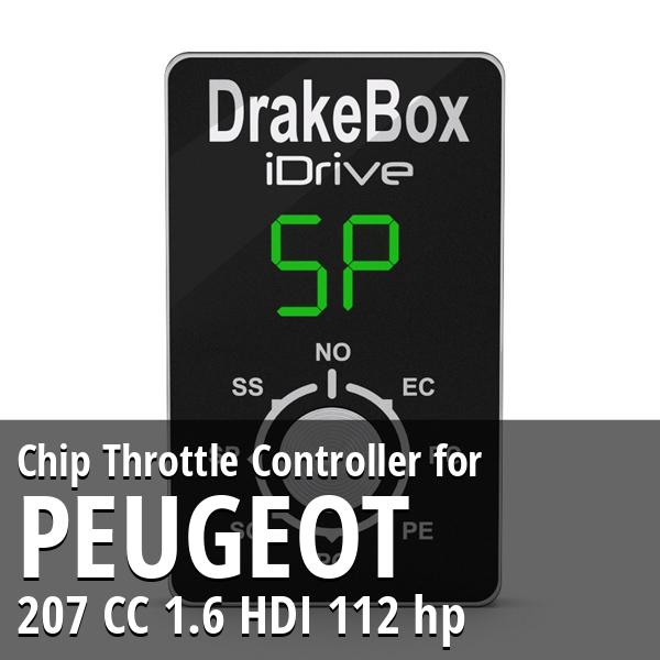 Chip Peugeot 207 CC 1.6 HDI 112 hp Throttle Controller