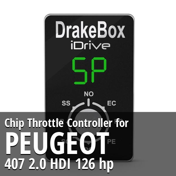 Chip Peugeot 407 2.0 HDI 126 hp Throttle Controller