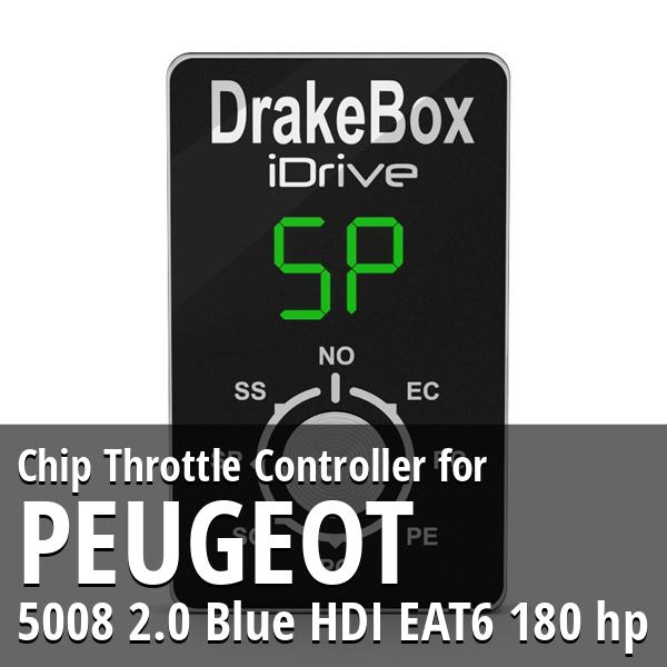 Chip Peugeot 5008 2.0 Blue HDI EAT6 180 hp Throttle Controller