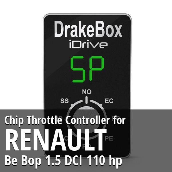 Chip Renault Be Bop 1.5 DCI 110 hp Throttle Controller
