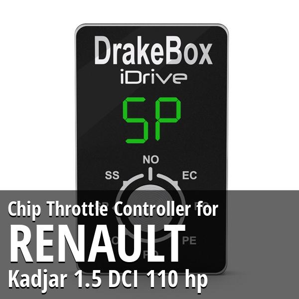 Chip Renault Kadjar 1.5 DCI 110 hp Throttle Controller