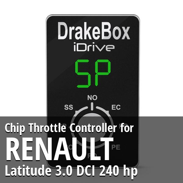 Chip Renault Latitude 3.0 DCI 240 hp Throttle Controller