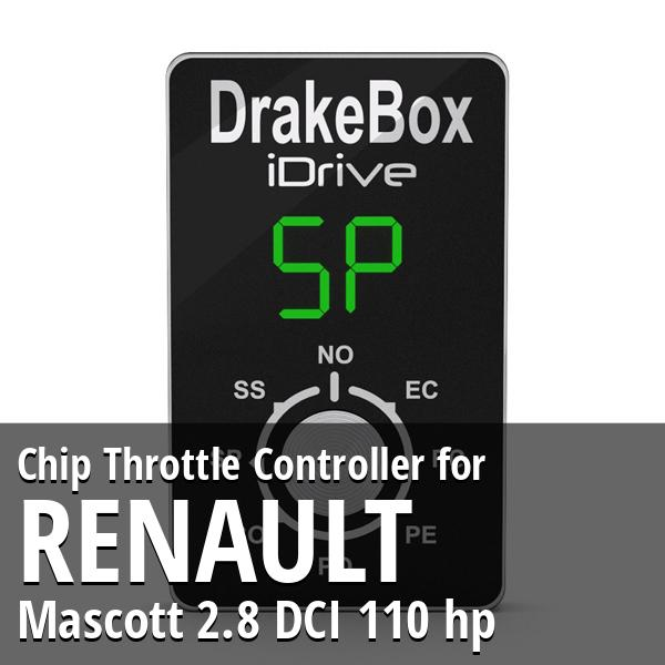 Chip Renault Mascott 2.8 DCI 110 hp Throttle Controller
