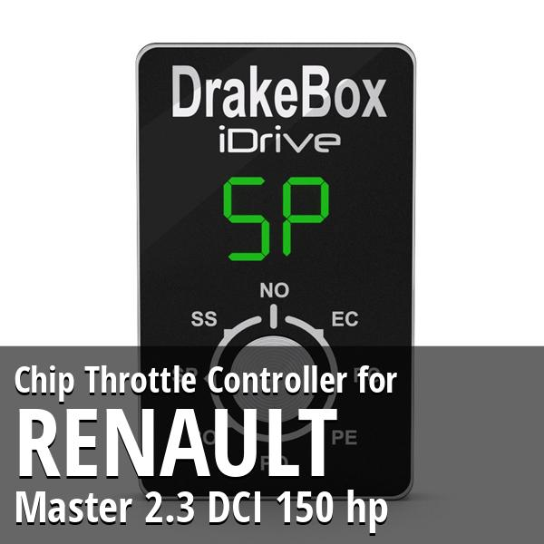 Chip Renault Master 2.3 DCI 150 hp Throttle Controller