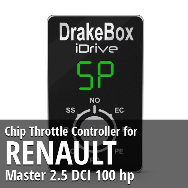Chip Renault Master 2.5 DCI 100 hp Throttle Controller