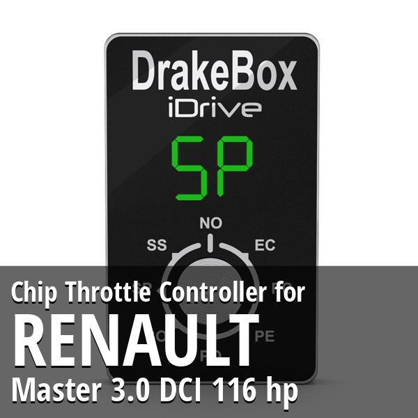 Chip Renault Master 3.0 DCI 116 hp Throttle Controller