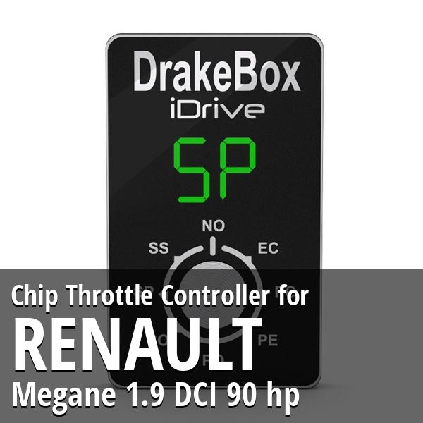 Chip Renault Megane 1.9 DCI 90 hp Throttle Controller