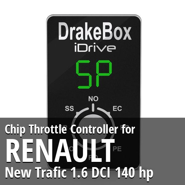 Chip Renault New Trafic 1.6 DCI 140 hp Throttle Controller