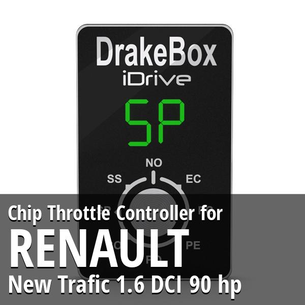 Chip Renault New Trafic 1.6 DCI 90 hp Throttle Controller