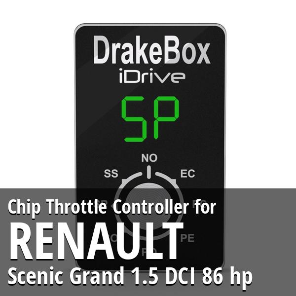 Chip Renault Scenic Grand 1.5 DCI 86 hp Throttle Controller
