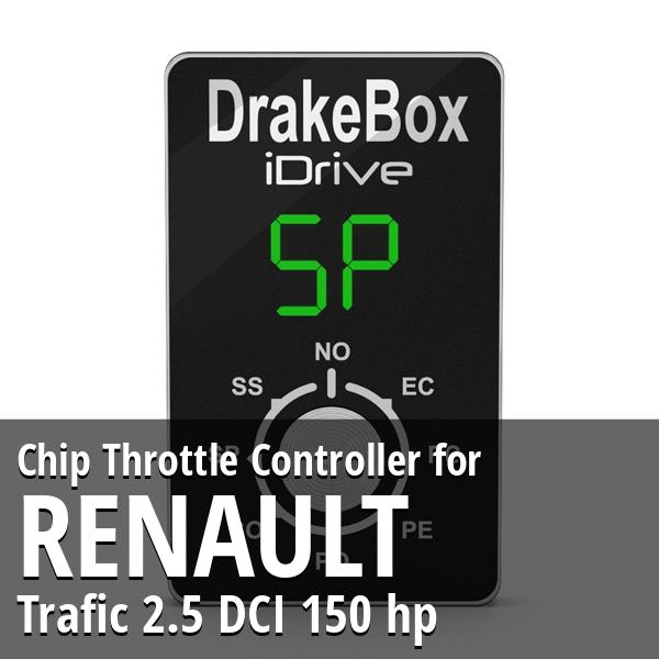 Chip Renault Trafic 2.5 DCI 150 hp Throttle Controller
