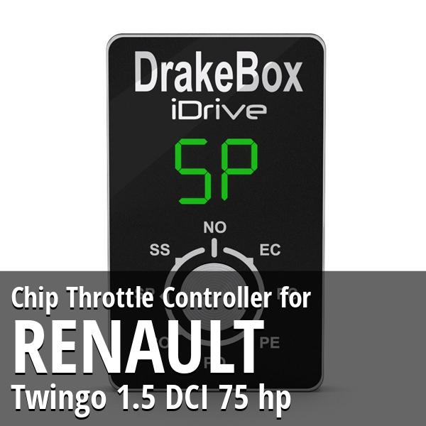 Chip Renault Twingo 1.5 DCI 75 hp Throttle Controller