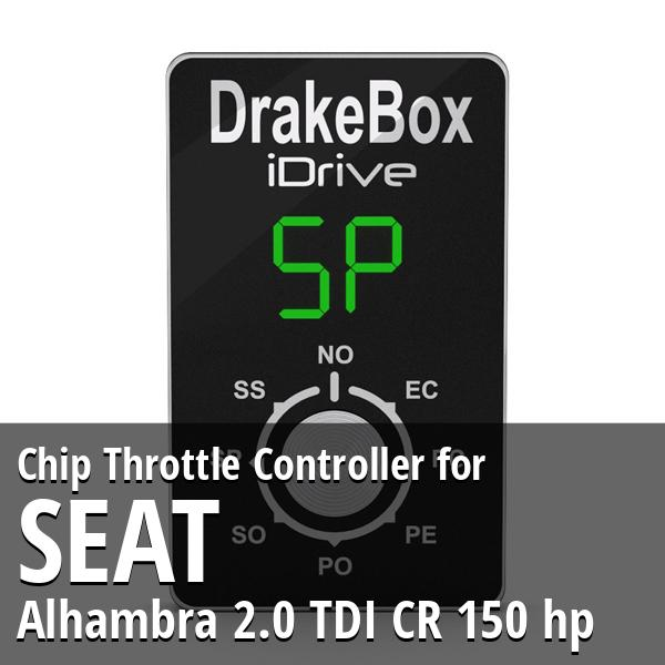 Chip Seat Alhambra 2.0 TDI CR 150 hp Throttle Controller