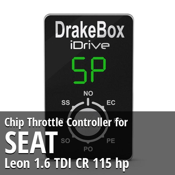 Chip Seat Leon 1.6 TDI CR 115 hp Throttle Controller
