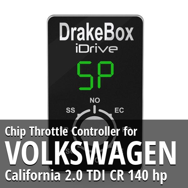 Chip Volkswagen California 2.0 TDI CR 140 hp Throttle Controller