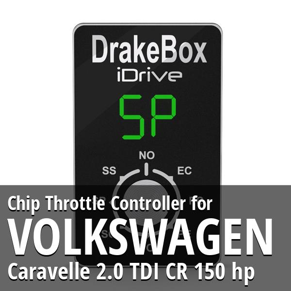 Chip Volkswagen Caravelle 2.0 TDI CR 150 hp Throttle Controller