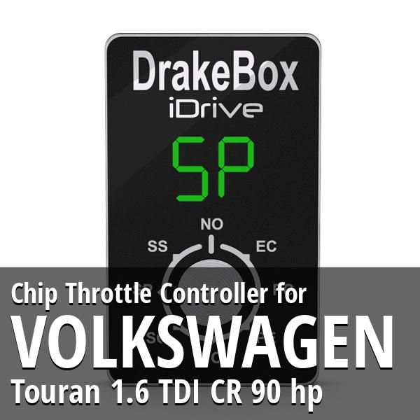 Chip Volkswagen Touran 1.6 TDI CR 90 hp Throttle Controller