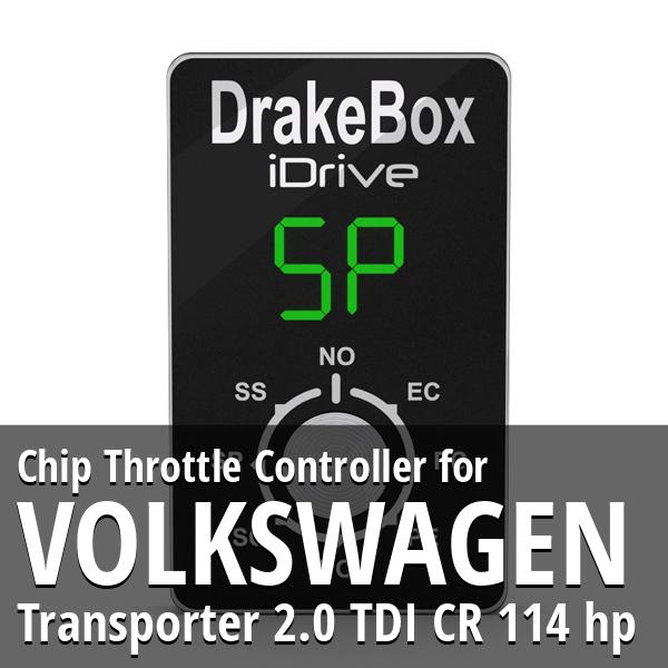 Chip Volkswagen Transporter 2.0 TDI CR 114 hp Throttle Controller