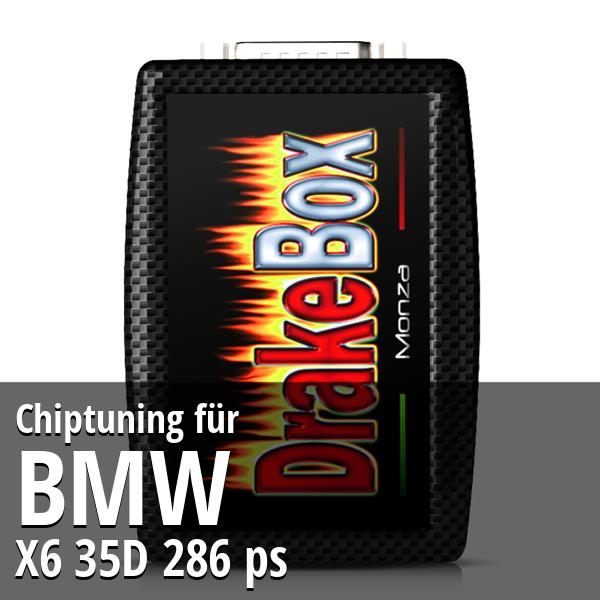 Chiptuning Bmw X6 35D 286 ps