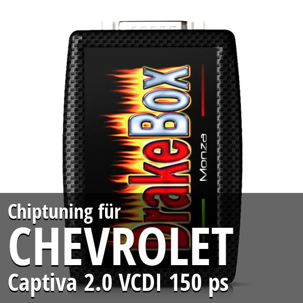Chiptuning Chevrolet Captiva 2.0 VCDI 150 ps