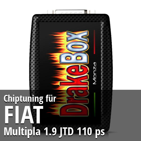 Chiptuning Fiat Multipla 1.9 JTD 110 ps