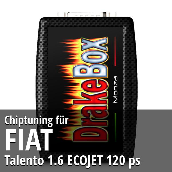 Chiptuning Fiat Talento 1.6 ECOJET 120 ps