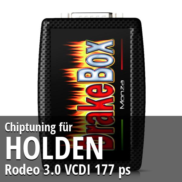 Chiptuning Holden Rodeo 3.0 VCDI 177 ps