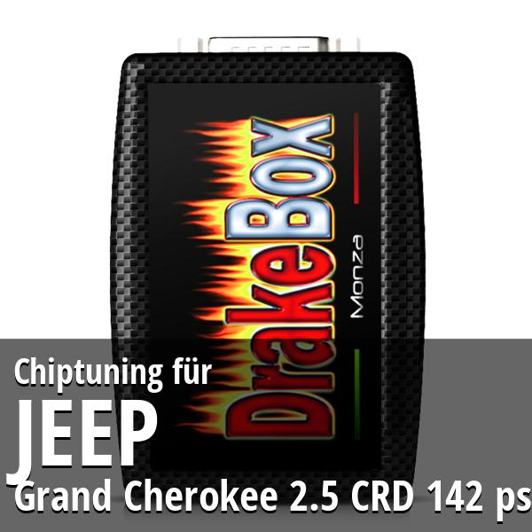 Chiptuning Jeep Grand Cherokee 2.5 CRD 142 ps
