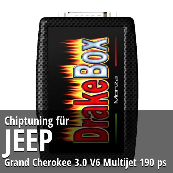 Chiptuning Jeep Grand Cherokee 3.0 V6 Multijet 190 ps