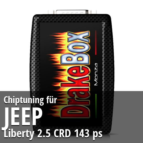 Chiptuning Jeep Liberty 2.5 CRD 143 ps