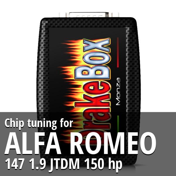 Chip tuning Alfa Romeo 147 1.9 JTDM 150 hp