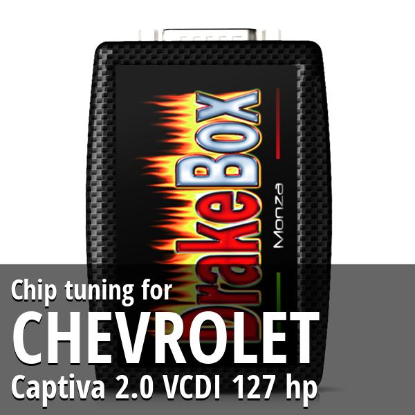 Chip tuning Chevrolet Captiva 2.0 VCDI 127 hp