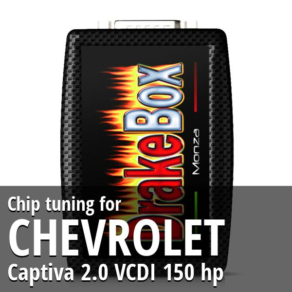Chip tuning Chevrolet Captiva 2.0 VCDI 150 hp