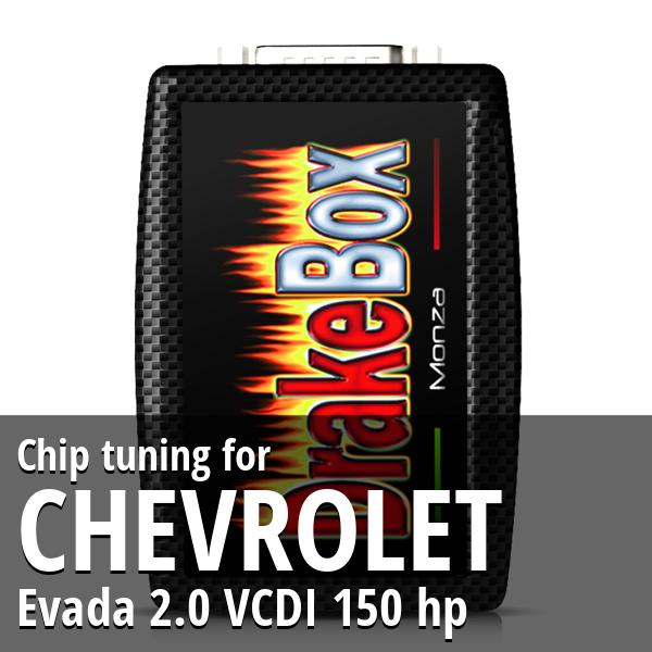 Chip tuning Chevrolet Evada 2.0 VCDI 150 hp
