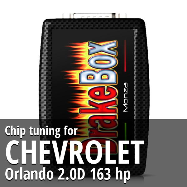 Chip tuning Chevrolet Orlando 2.0D 163 hp
