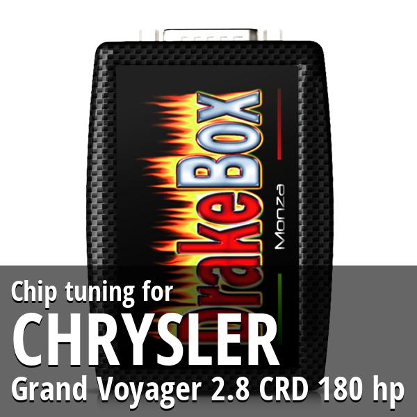 Chip tuning Chrysler Grand Voyager 2.8 CRD 180 hp