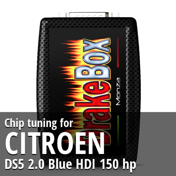 Chip tuning Citroen DS5 2.0 Blue HDI 150 hp