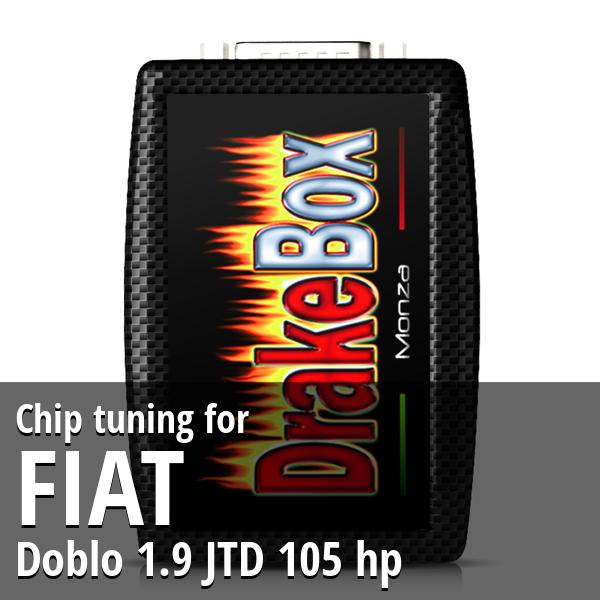 Chip tuning Fiat Doblo 1.9 JTD 105 hp