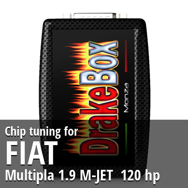 Chip tuning Fiat Multipla 1.9 M-JET 120 hp