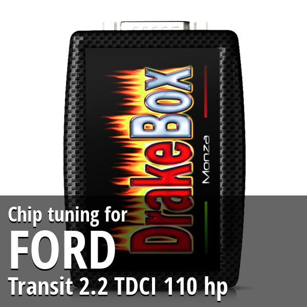 Chip tuning Ford Transit 2.2 TDCI 110 hp