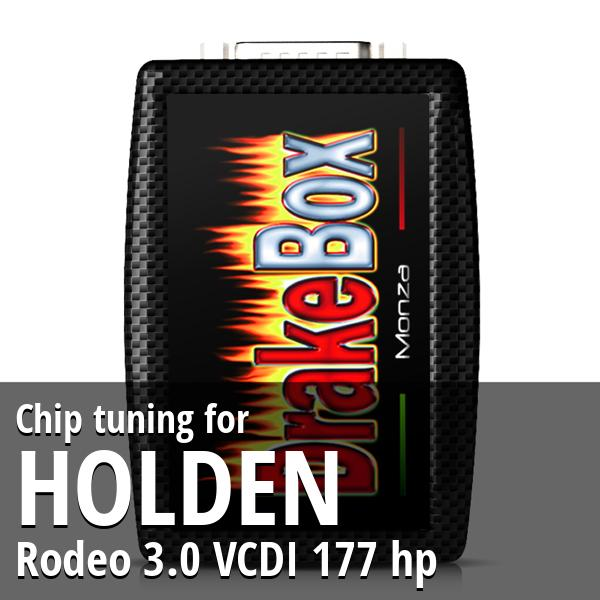 Chip tuning Holden Rodeo 3.0 VCDI 177 hp