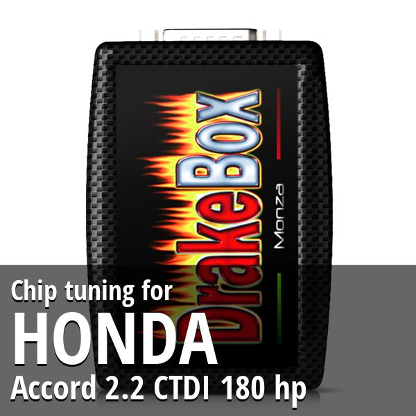 Chip tuning Honda Accord 2.2 CTDI 180 hp