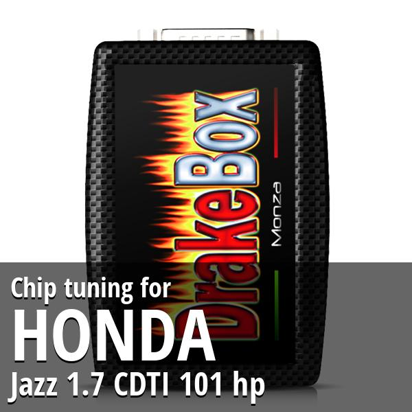 Chip tuning Honda Jazz 1.7 CDTI 101 hp